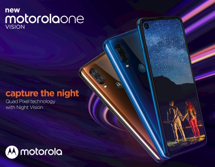 New Motorola One Vision Smartphone Packs Advanced Photography Features