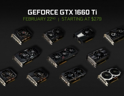 New NVIDIA GeForce GTX 1660 Ti Brings Turing Shaders to the Mainstream Market, Starting at $279