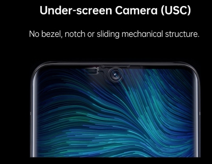 OPPO Unveils Under-Screen Smartphone Camera at MWC Shanghai 2019