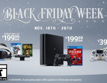 PlayStation's Black Friday Week 2018 Deals