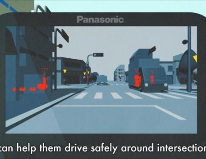 Panasonic System Uses Millimeter Waves to Advance Safe Mobility