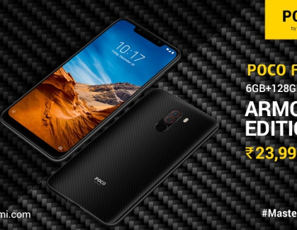POCO F1 Armoured Edition With 6GB RAM And 128GB Storage Launched In India