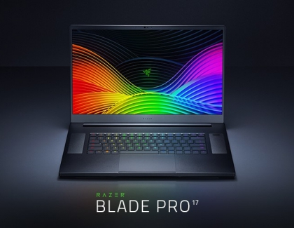 New Razer Blade Pro 17 Flagship Gaming Laptop Released
