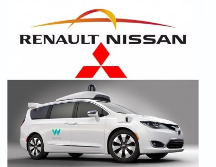 Nissan-Renault Alliance to Tie up with Google's Waymo on Self-driving Cars