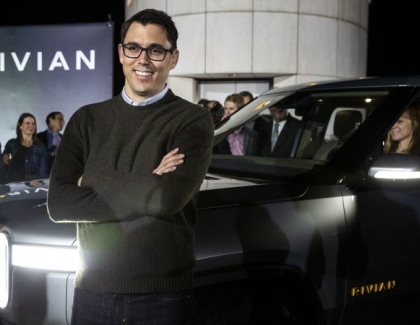 Amazon Invests in Electric Truck Maker Rivian