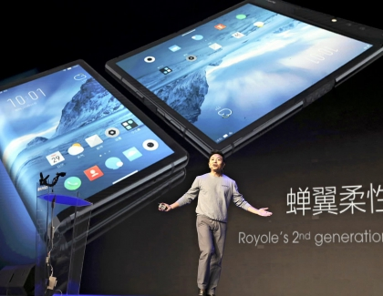 No Huawei or Samsung. World's first Foldable Smartphone Unveiled by Chinese Royole