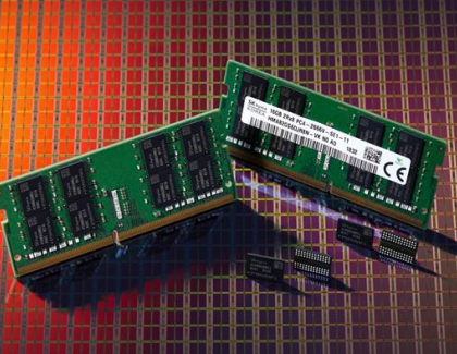 SK hynix Develops New 10-nano Class DDR4 DRAM