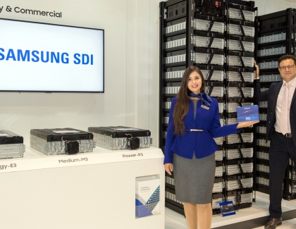 Samsung SDI Introduces New ESS Products at European ESS Exhibition