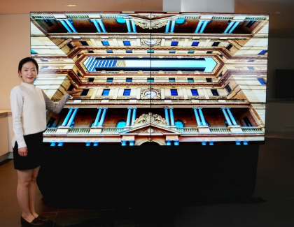 Samsung Display Launches First UHD Video Wall Panel