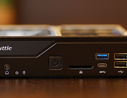 Shuttle DH310S mini PC review