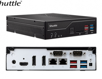New Shuttle Slim DH370 Has Three 4K Display Outputs