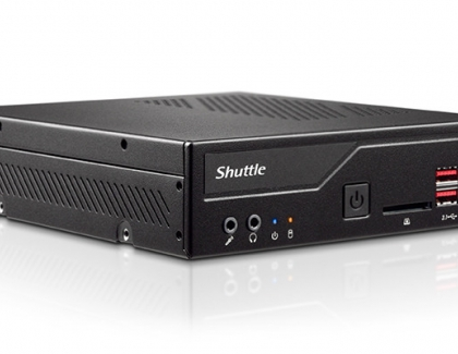 Shuttle Readies the 1.3-litre DH370 Mini-PC for 8th generation Intel Hexa-Core Processors