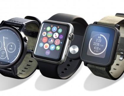 U.S. Smartwatch Sales See Strong Gains, Apple Watch Dominates Sales