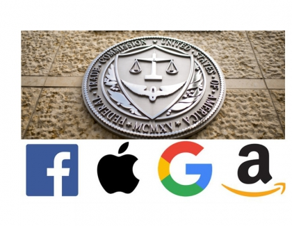 Google, Facebook, Amazon and Apple Face Antitrust Scrutiny in the U.S.