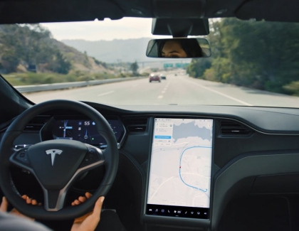 Tesla Teases With New Emergency Braking System