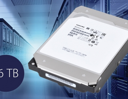 Toshiba Unveils 16TB MG08 Series CMR Hard Disk Drives