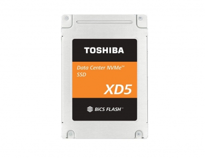 Toshiba Expands NVMe SSD Portfolio For Cloud Data Centers With New XD5 Series