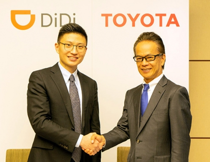 Toyota to Invest $600 Million in Chinese Ride-Hailing Giant Didi
