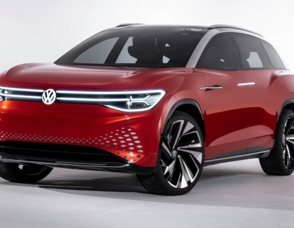 Volkswagen 's ID. ROOMZZ Electric SUV Concept Launches in Shanghai