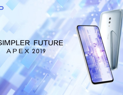 Vivo APEX 2019 Concept 5G Smartphone Features a Full-Display Fingerprint Scanning Technology