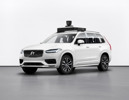 Volvo Cars and Uber Unveil New Self-driving Vehicle