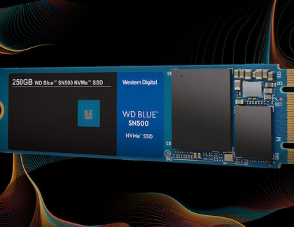 Western Digital's WD Blue SSD Goes NVMe