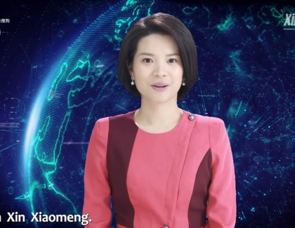China's Xinhua Used Robot News Anchor