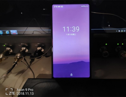 ZTE Completes a 5G Call, Internet and WeChat Connection