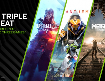 GeForce RTX Triple Threat Bundle Brings You Metro Exodus, Anthem, and Battlefield V