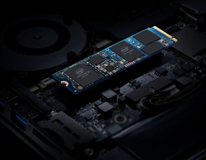 Intel Optane Memory H10 Drive Packs Optane Technology and Intel QLC NAND