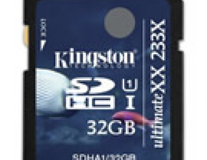Kingston UltimateXX 233X 32GB SDHC review