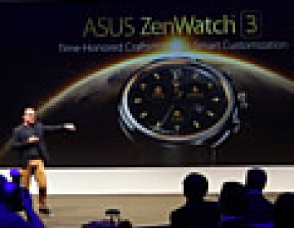 ASUS Presents New ZenWatch 3, Gaming and Lifestyle Products At IFA 2016