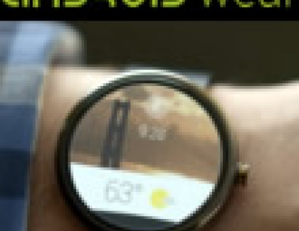 Google Android Wear Coming On Wearables