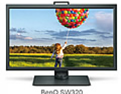 New BenQ SW320 Flagship Photographer Monitor Released
