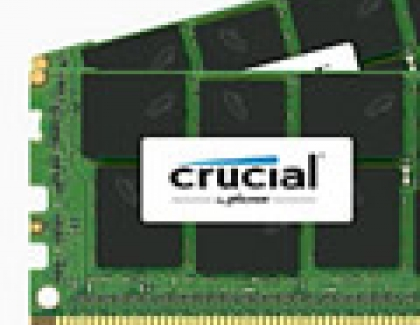 Crucial Announces 32GB DDR4 16Gb-based VLP RDIMM and 64GB DDR4 16Gb-based LRDIMM Server Memory
