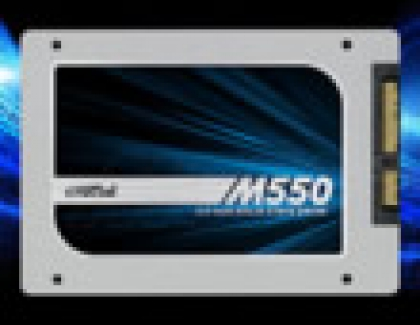 Crucial M550 Series SSDs Released
