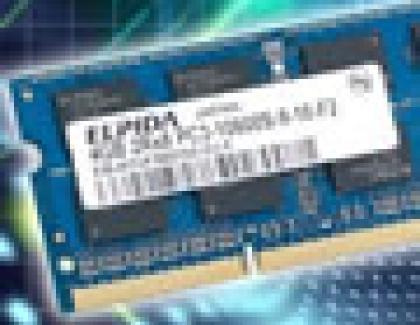 Elpida Begins Sample Shipments of 30nm Process 4-Gigabyte DDR3  SO-DIMM