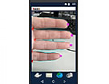 Hitachi Finger Vein Authentication System Uses A Smartphone Camera