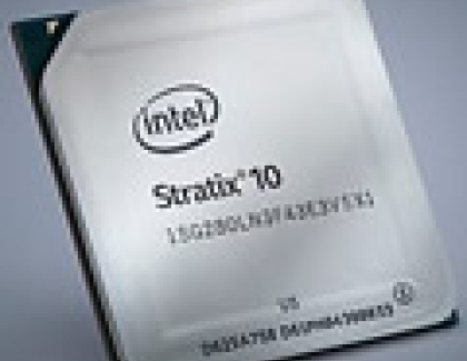 ARM-based Intel Stratix 10 FPGA Launches for 5G, NFV and Data Centers