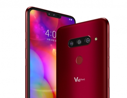 LG Unveils the Five Camera LG V40 THINQ Smartphone, Hybrid LG Watch W7 Smartwatch