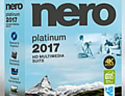 Nero 2017 Brings Support For More Formats, Functions And Security