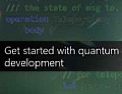 Microsoft Releases Preview of Quantum Development Kit, Q Sharp Programming  Language