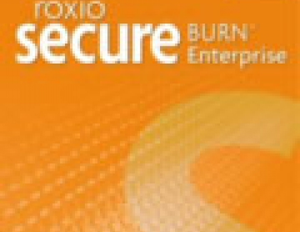 Roxio Secure Burn Enables Secure Data Recordings On Portable Media