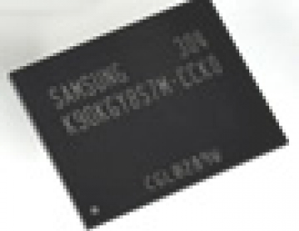 Samsung Mass Producing  128-Gigabit 3-Bit Multi-Level-Cell NAND Flash Memory
