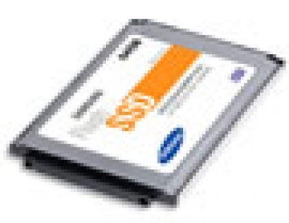 Samsung Mass Produces 64GB Solid State Drive for Notebook PCs