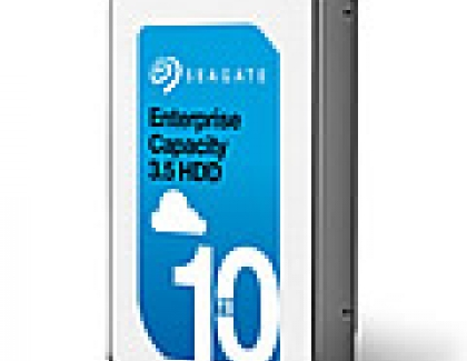 Seagate Now Shipping 10TB Helium Enterprise Drive