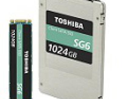 Toshiba's SG6 SSD Client SSD Uses 64-Layer 3D Flash Memory