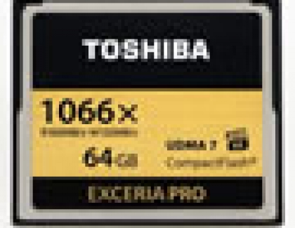 Toshiba to Start Sales of 4K-ready CompactFlash Memory Card, 8Mpx Image Sensor