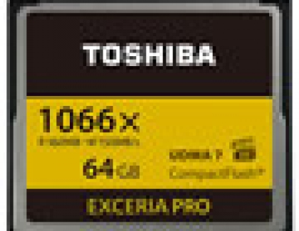 Toshiba to Launch CompactFlash Memory Card for Digital Single Lens Reflex Market