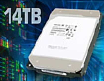 Toshiba Launches First 14TB HDD with Conventional Magnetic Recording